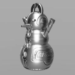 12.png Télécharger fichier STL gratuit Bonhomme de neige • Design imprimable en 3D, motek