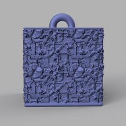 5 rendu 1 .png Download STL file Garland cube • Model to 3D print, motek