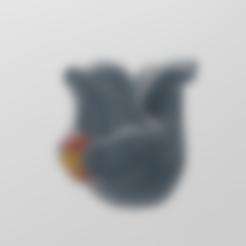 phoque stl .stl Télécharger fichier STL gratuit phoque • Modèle imprimable en 3D, Motek3D