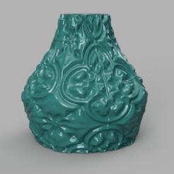 Télécharger plan imprimante 3D gatuit Vase motif ancien , Motek3D