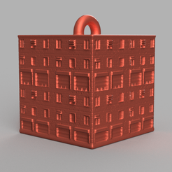 44 rendu 1 .png Download STL file Garland cube • Model to 3D print, motek