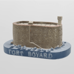fort boyard pres.png Download STL file strong boyar • 3D printing model, motek