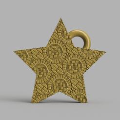 48.png Télécharger fichier STL gratuit Etoile de noel  • Plan pour imprimante 3D, motek