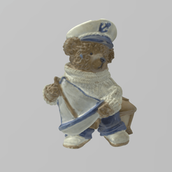 marin pres 1.png Download STL file sea bear • 3D print object, motek