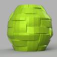 7 rendu 3.png Télécharger fichier STL X86 Mini vase collection  • Objet imprimable en 3D, motek