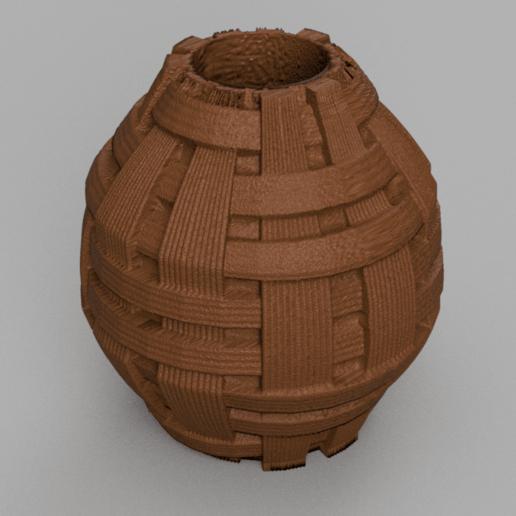10 rendu 2 .png Télécharger fichier STL X86 Mini vase collection  • Objet imprimable en 3D, motek
