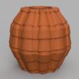17 rendu 2 .png Télécharger fichier STL X86 Mini vase collection  • Objet imprimable en 3D, motek
