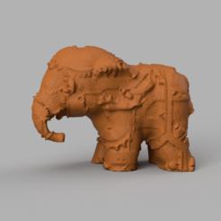 05.png Télécharger fichier STL Elephant  • Modèle pour imprimante 3D, motek