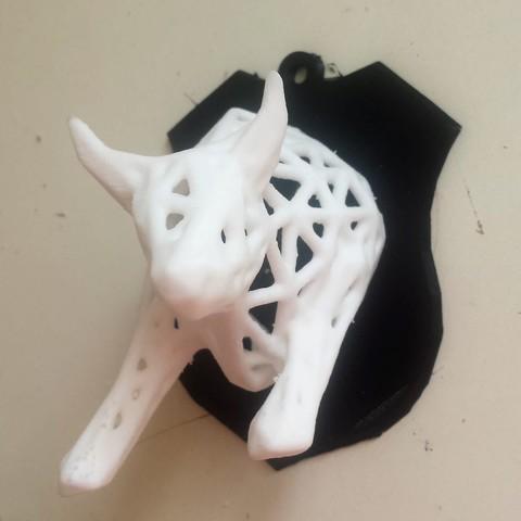 toro2.jpg Download STL file Voronoi Bull • Object to 3D print, motek