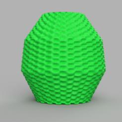 19 rendu 2 .png Télécharger fichier STL gratuit Vase 19 • Plan pour imprimante 3D, Motek3D