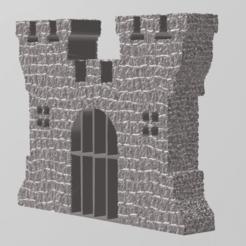 Télécharger objet 3D gratuit Castle door mini, Motek3D