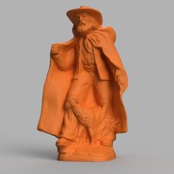 berger mouton rendu 1 .png Download STL file Shepherd and sheep • 3D printable model, motek