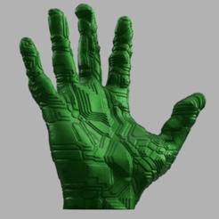Descargar archivo 3D El circuito electrónico principal, Motek3D