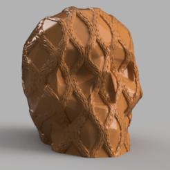 skull corde rendu 1 2 .png Download STL file Skull rope x2 • 3D print object, Motek3D