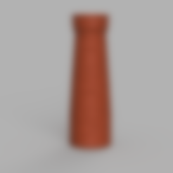 cheminé .stl Download free STL file Brick fireplace • 3D printing model, Motek3D