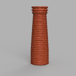 Download free 3D print files Brick fireplace, Motek3D