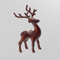 renne pres 2.png Download STL file Christmas Reindeer • 3D printable design, Motek3D