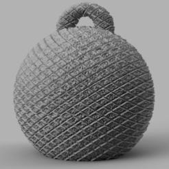 056.png Télécharger fichier STL gratuit boule de noel  • Objet imprimable en 3D, motek