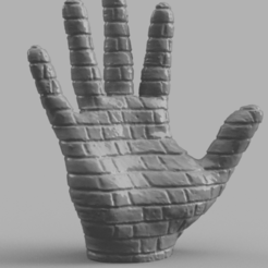 Download free 3D printing files Hand stone, Motek3D