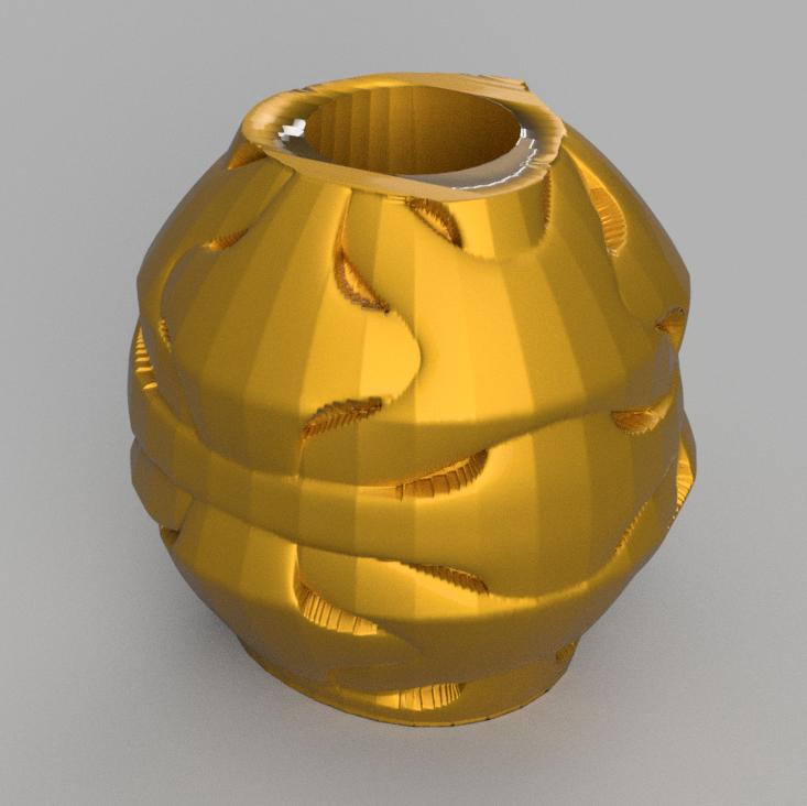 25 rendu 1.png Télécharger fichier STL X86 Mini vase collection  • Objet imprimable en 3D, motek
