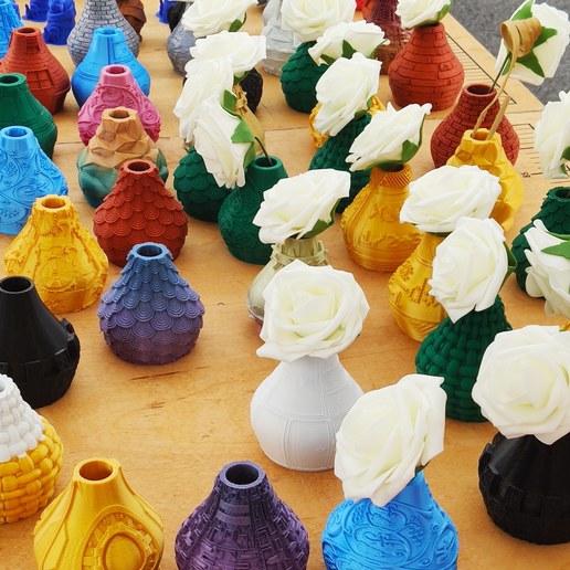 IMG_20200713_115746_976.jpg Télécharger fichier STL X86 Mini vase collection  • Objet imprimable en 3D, motek