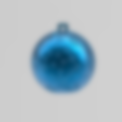 boule de noel 3.stl Download free STL file christmas ball 3 • 3D print model, Motek3D