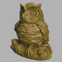hiboux 12.png Download STL file Owl • 3D printer design, motek
