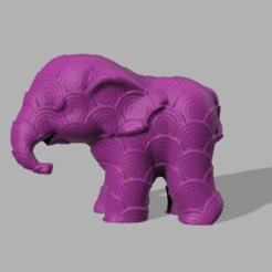 000047.png Télécharger fichier STL Elephant  • Modèle pour imprimante 3D, motek