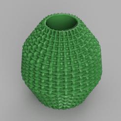16 rendu 1 .png Télécharger fichier STL gratuit Vase 16 • Design imprimable en 3D, Motek3D