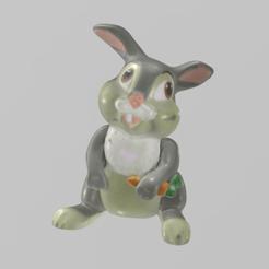 lapin pres 11.png Télécharger fichier STL Lapin • Design pour impression 3D, motek