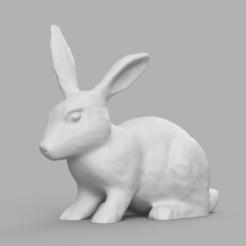 lapin rendu 1.png Télécharger fichier STL lapin • Design pour impression 3D, motek