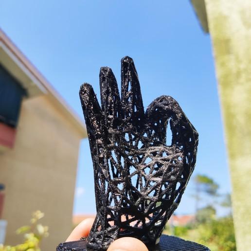 Télécharger objet 3D gratuit Hand ok , Motek3D