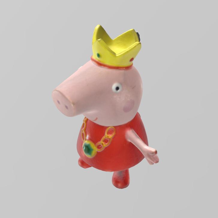 peppa pig roi pres 2.png Télécharger fichier STL gratuit peppa pig roi • Modèle pour impression 3D, Motek3D