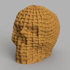 skull filet rendu 1 .png Download STL file skull filet X2 • Design to 3D print, motek