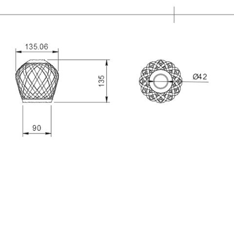 Sans titre.png Download STL file bubble lamp shade • 3D printing design, motek