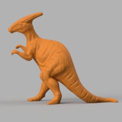 dinosaure a crete pic 2.png Télécharger fichier STL dinosaure à crête • Plan pour impression 3D, Motek3D