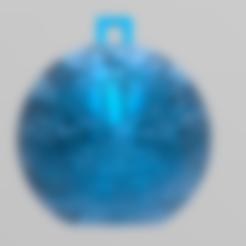 Télécharger fichier STL gratuit christmas ball 4 • Objet pour imprimante 3D, Motek3D