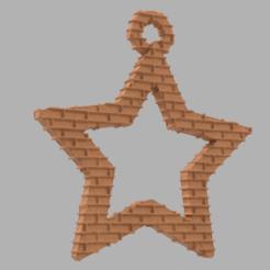 37.png Télécharger fichier STL Etoile creuse  • Plan pour imprimante 3D, motek