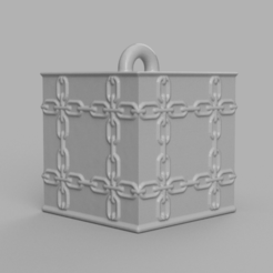 004.png Download STL file Garland cube • Model to 3D print, motek
