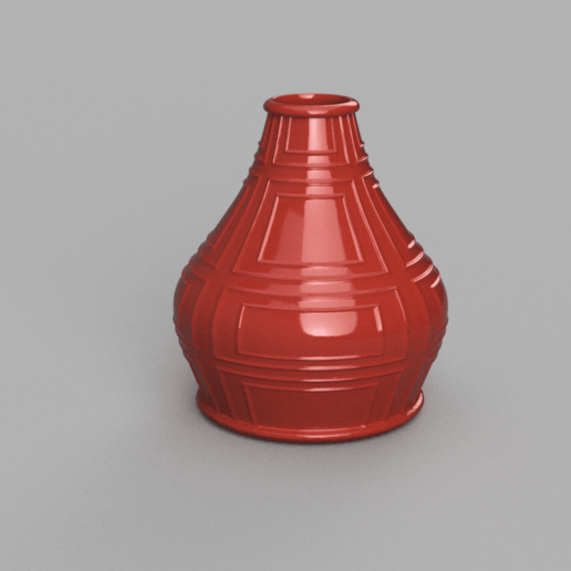 Sans nom.png Download free STL file Vintage vase • 3D printer model, motek