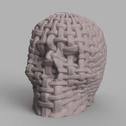 skull bandelette rendu 1 .png Download STL file Skull strip X2 • 3D printing design, Motek3D