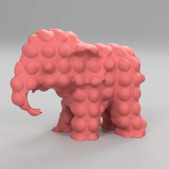 267.png Télécharger fichier STL Elephant  • Modèle pour imprimante 3D, motek