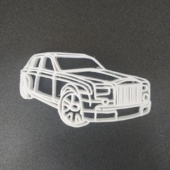 Download free 3D printer files Rolls royce keychain, Motek3D