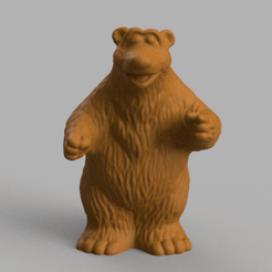 ours brun pres 1 .png Download STL file Brown bear • 3D printing model, Motek3D