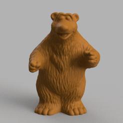 ours brun pres 1 .png Download STL file Brown bear • 3D printing model, motek