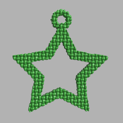 1.png Télécharger fichier STL gratuit Etoile creuse  • Plan pour imprimante 3D, motek