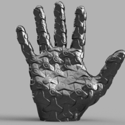 Download 3D printing files Mechanical hand, Motek3D