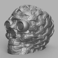 Download STL file Mechanical Skull • 3D printing template, Motek3D