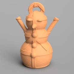 8.png Télécharger fichier STL Bonhomme de neige • Design imprimable en 3D, motek