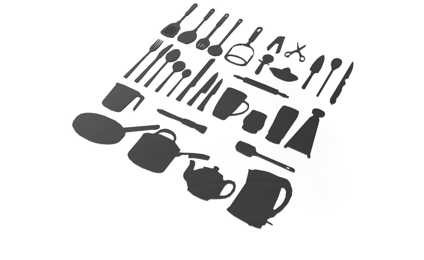 cuisine.png Download free STL file Kitchen utensil • Template to 3D print, motek